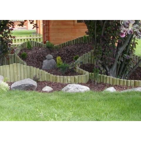 Steccato Roller Border 200x30cm in legno