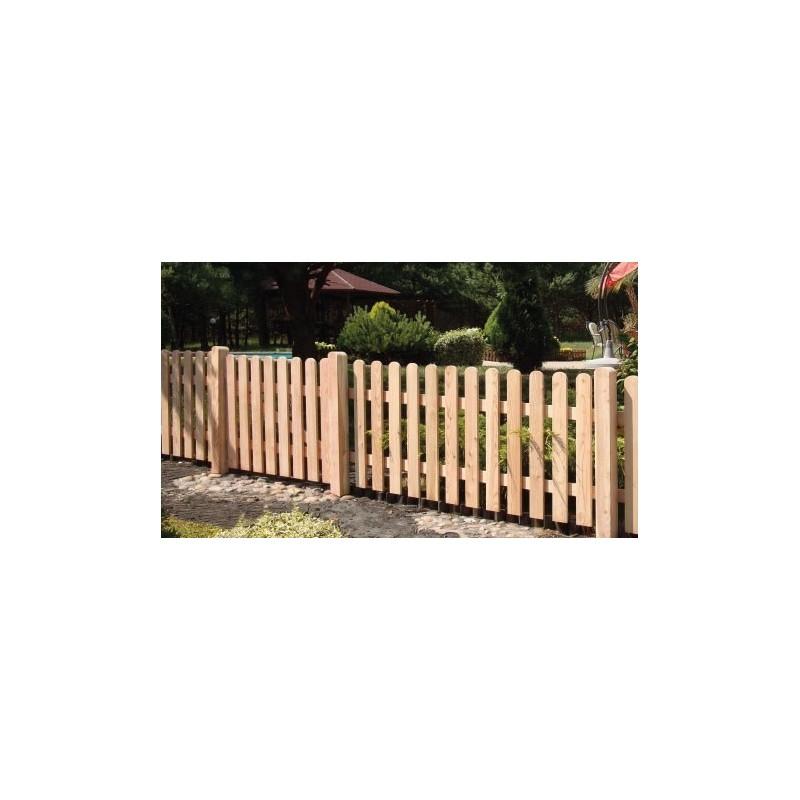 Steccato 180x100cm in legno