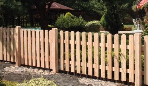 Steccato Estensibile Giardino : Steccato retta pi f l