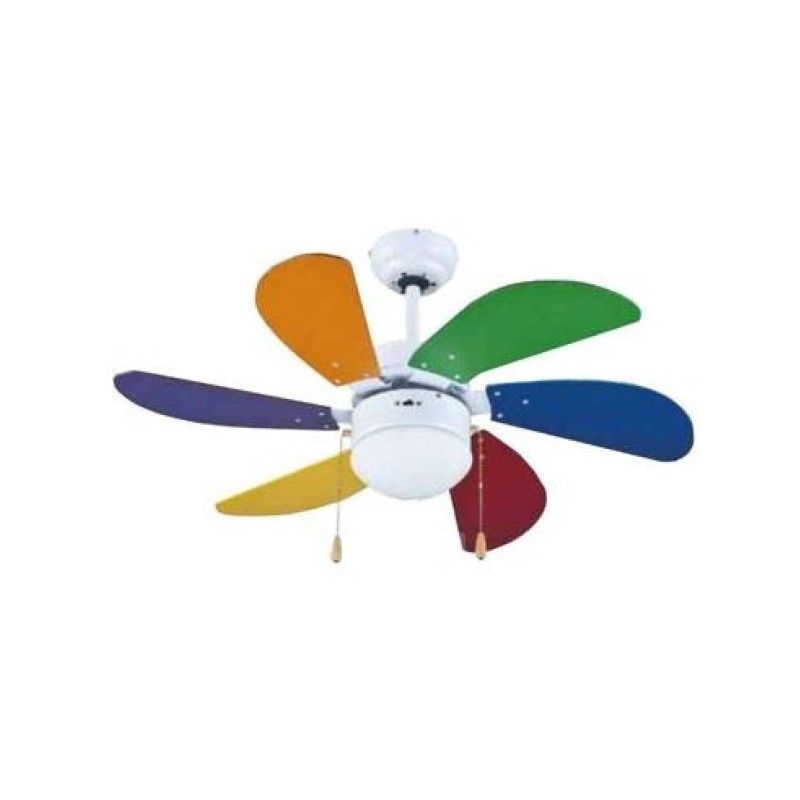 Ventilatore soffitto 6 Pale diametro 90 cm ZFS690C