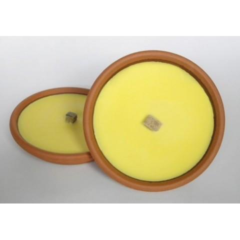 Citronella con base in ceramica D: 15,5cm