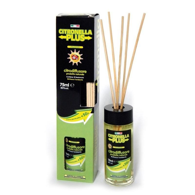 Diffusore Citroplus alla citronella 75ml per ambienti