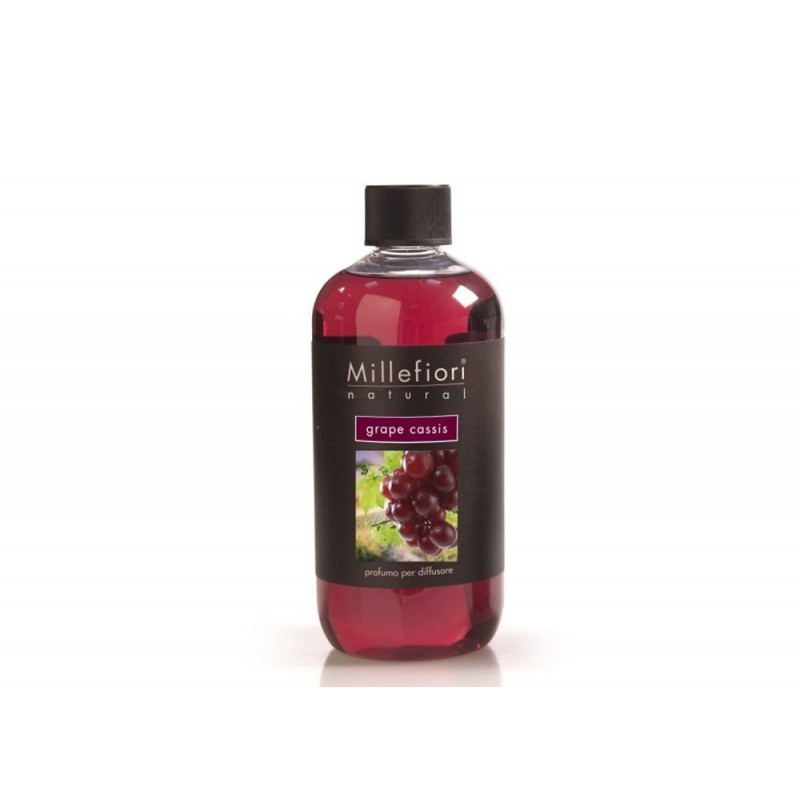 Ricarica diffusore stick grape cassis 500ml