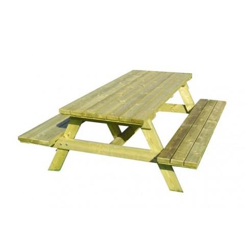 Set picnic tavolo e panche