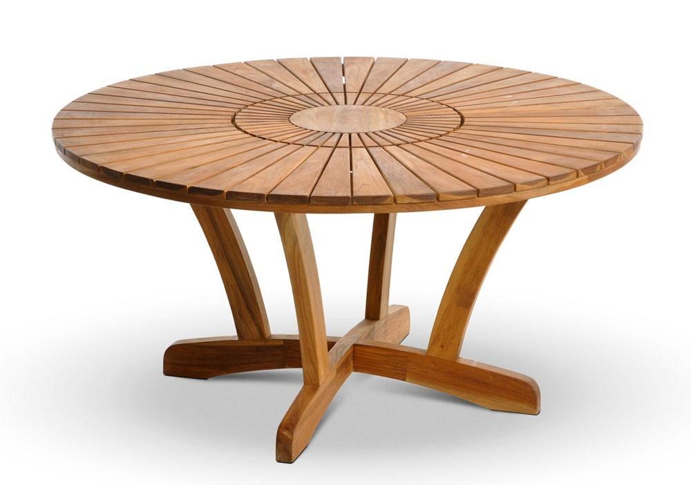 Tavolo rotondo da giardino casamia idea di immagine for Tavolo rotondo esterno