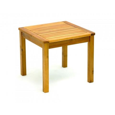 Tavolo acacia basso 4 gambe