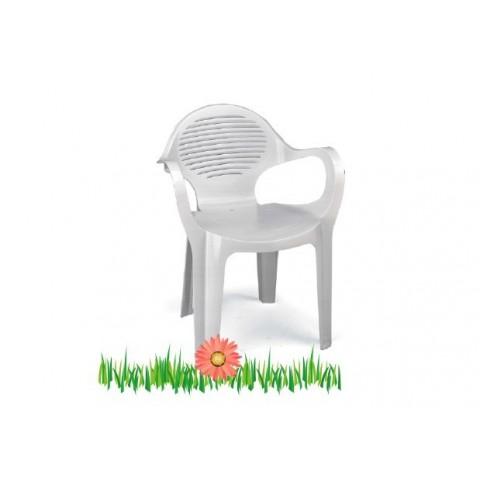 Sedia Olè con braccioli impilabile