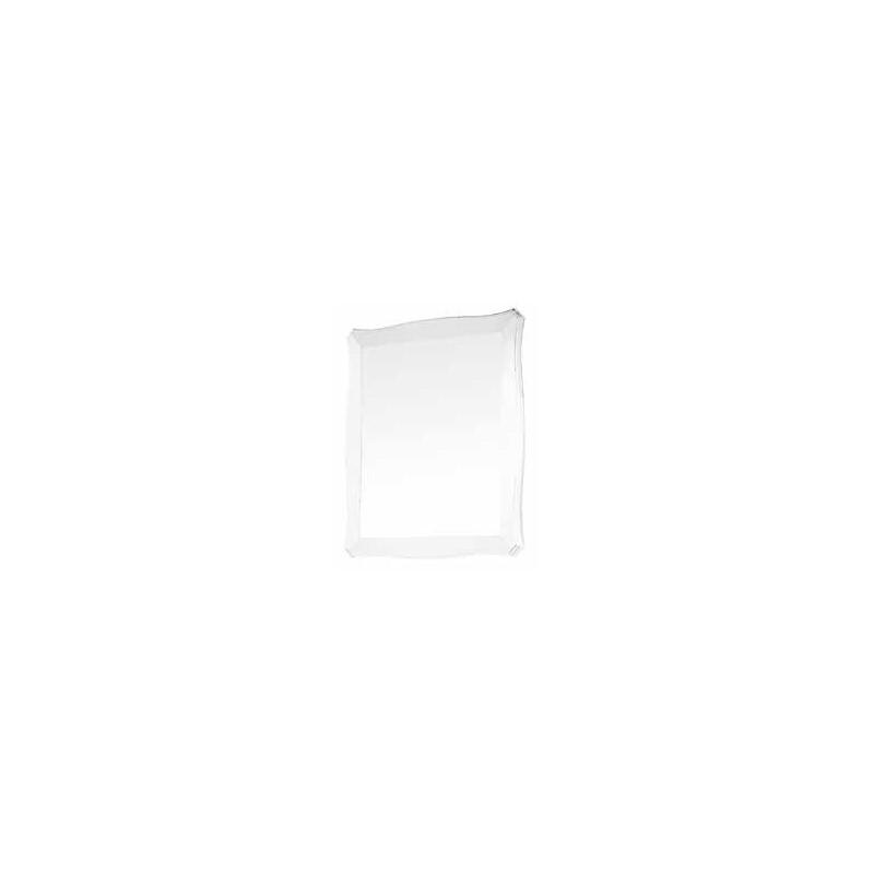 Specchio Bianco Legno Massello