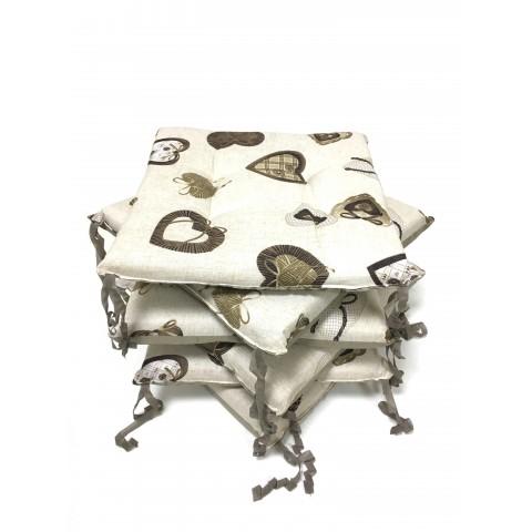 Set 6 pezzi cuscini coprisedia