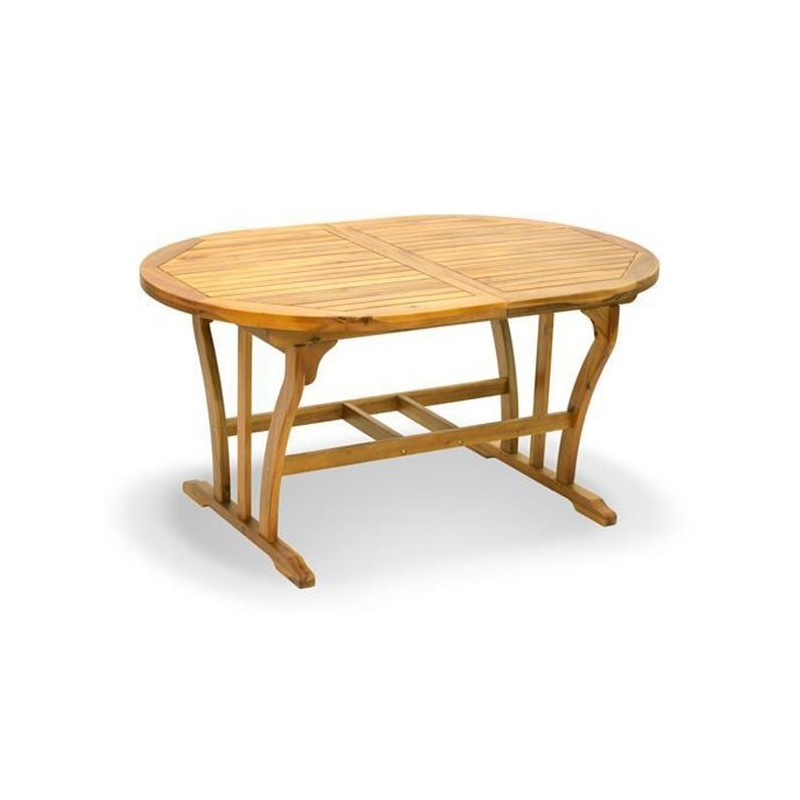 Tavolo ovale legno Acacia