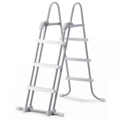 Scaletta doppia per piscina con gradini staccabili