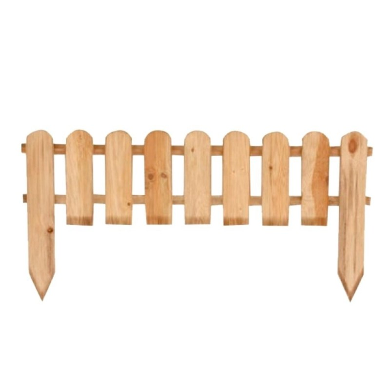 Steccato 105x65/45cm in legno vampiro