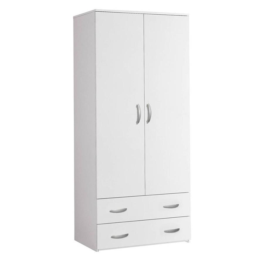 Armadio A Due Ante Bianco.Armadio Ikea Due Ante