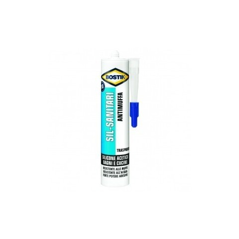 Silicone sanitario bianco 280 ml