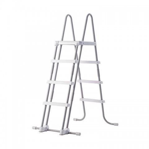 Scaletta doppia 4 gradini H122 cm