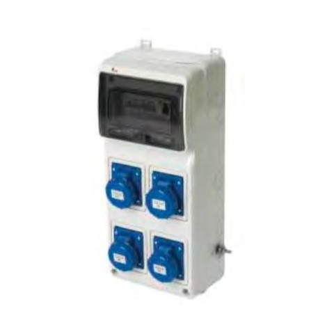 Quadro ASC IP55 16A
