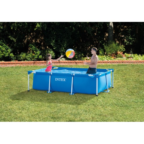 Piscina intex small frame