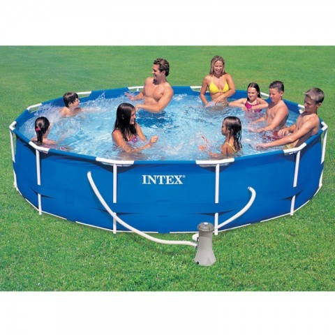 Piscina intex metal frame D366