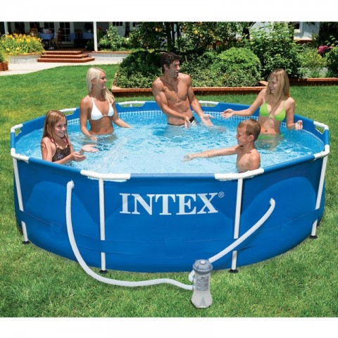 Piscina intex metal frame D305
