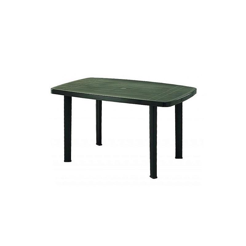 Tavolo faro da giardino in resina verde - Tavoli in resina da esterno ...