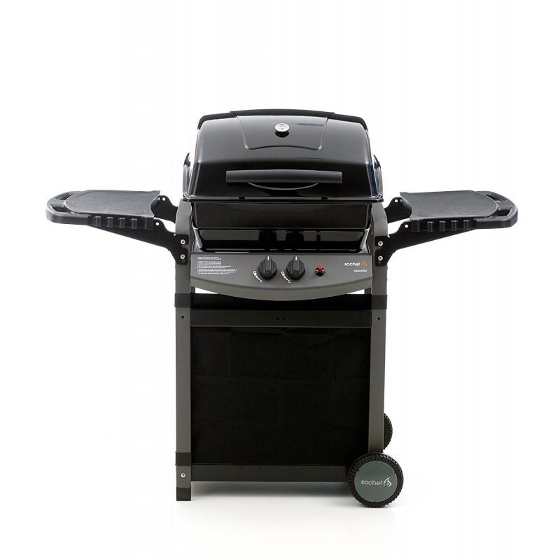 Barbecue BBQ a gas 2 bruciatori pietra lavica G20512