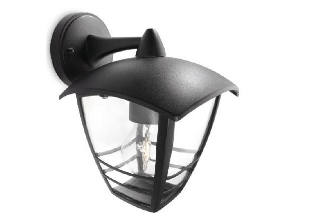 Lampada da parete alba p applique in vetro e porcellana