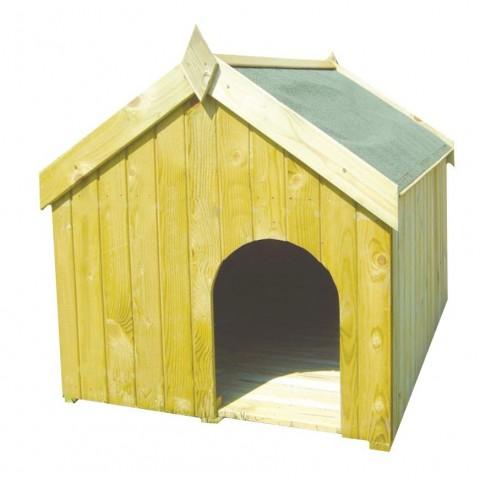 Cuccia in legno trattato per esterno 60x40x60cm