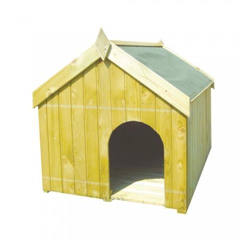 Cuccia in legno per cane 120x90cm