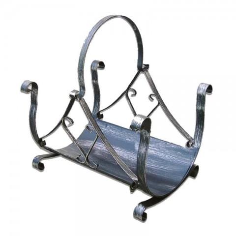 Portalegna Tevere in ferro battuto 50cm