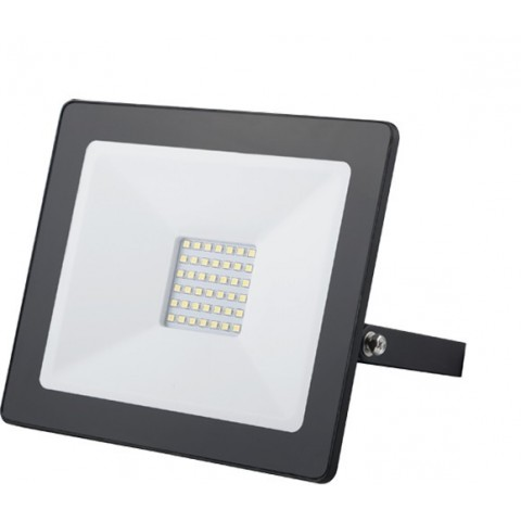 Proiettore LED 30W 6500K Luce Fredda Alluminio IP65 A+