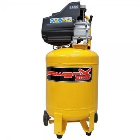 Compressore salvaspazio verticale 1500W 50LT 8BAR lubrificato