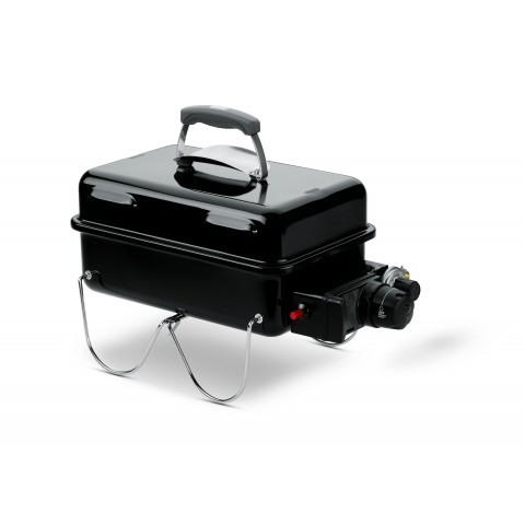 Barbecue a Gas Weber Go-Anywhere Nero