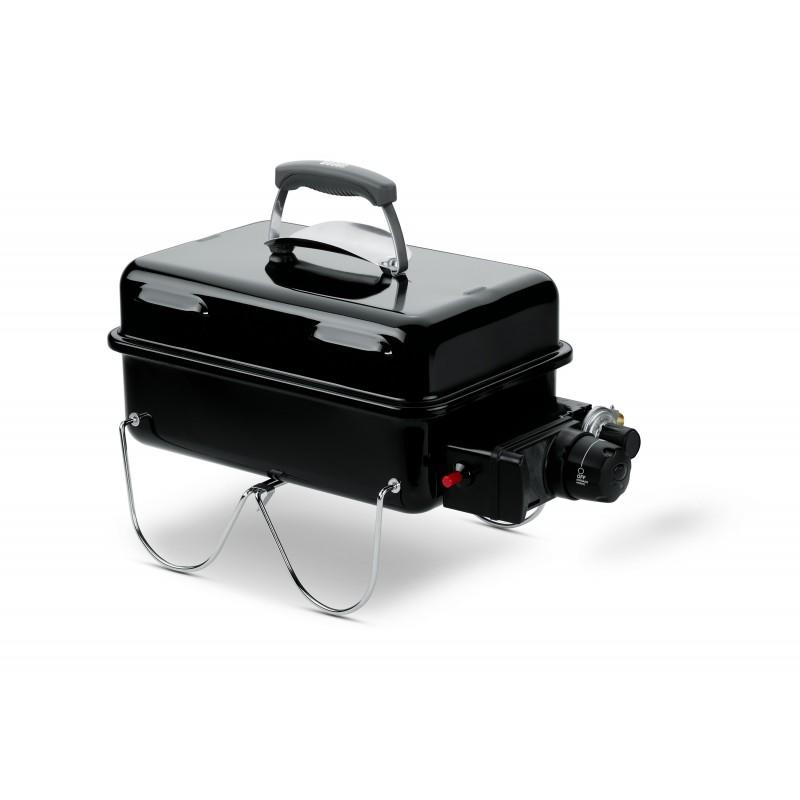 Barbecue a Gas Weber Go-Anywhere Nero
