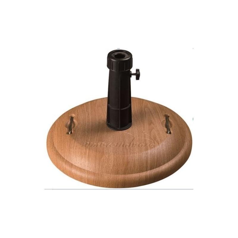 Base per ombrellone in cemento 16kg Grigio Scuro Palo 3,5/4,8
