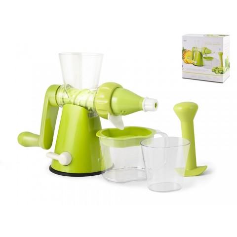 Estrattore succhi manuale colore verde