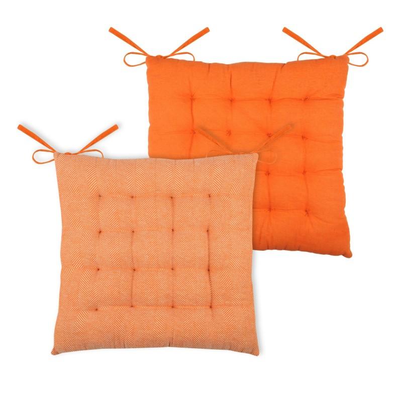 Cuscino Per Sedia Ikati 40x40cm Arancio