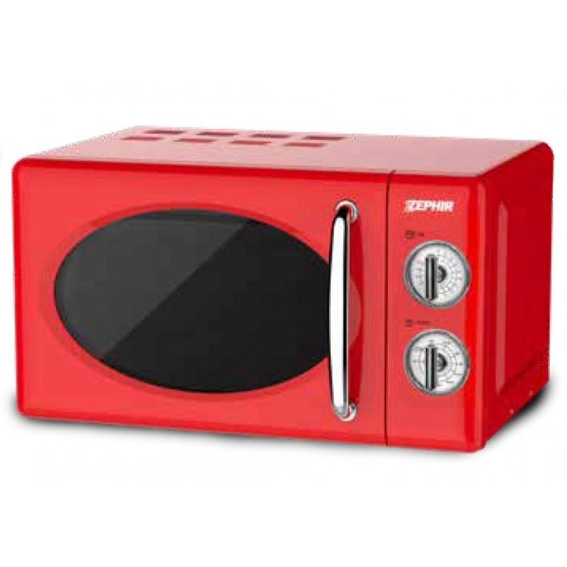 Forno microonde combinato 20L Rosso