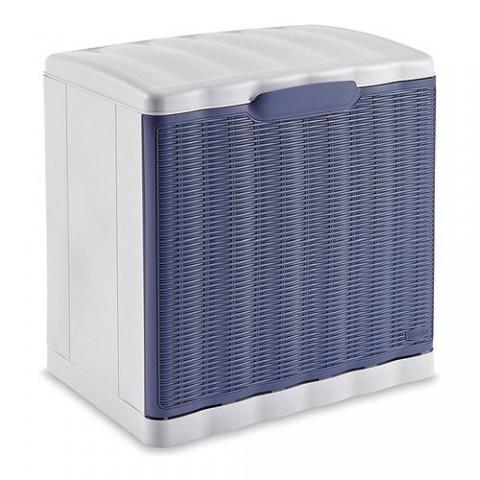Scarpiera Elegance modulare impilabile colore blu navy