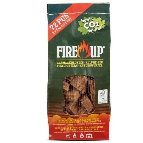Accendifuoco 72 cubetti ecologico fire up
