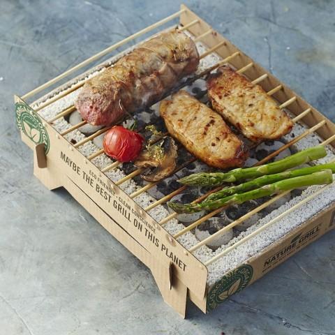Griglia Monouso - Barbecue Portatile Pronto in 5 Minuti