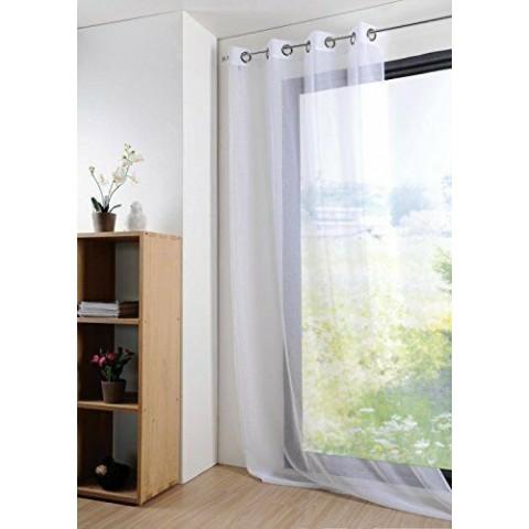 Tenda di Cotone con Effetto Velo 135 x 260 cm
