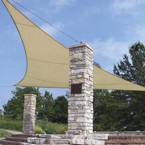 Tenda vela triangolare 3.6x3.6x3.6m