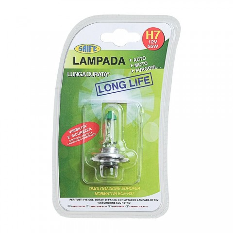 LAMPADA H7 LONG LIFE 12V 55W 1pz