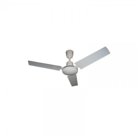 Ventilatore da Soffitto senza Luce 3 Pale 92 cm 3 Velocità con Comandi a muro