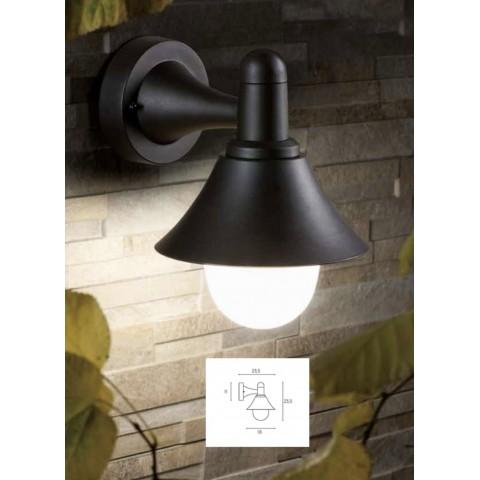 Applique PICCOLA E27- Colore nero