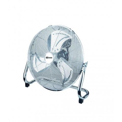 Termozeta Ventilatore Metal Bassotto Alta Velocita' In Metallo 40cm 90W Cromato