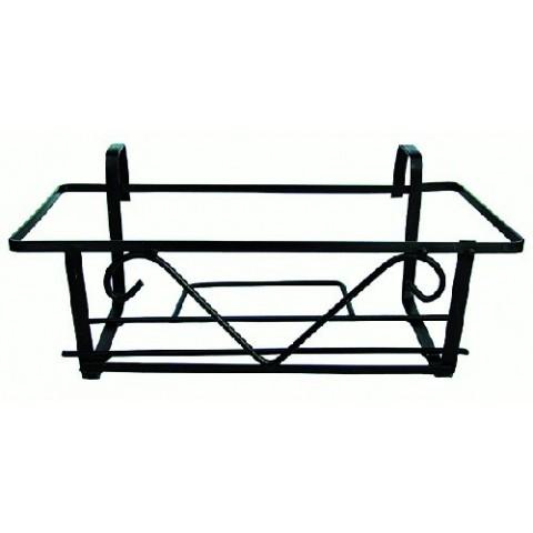 Portafioriera da balcone in ferro verniciato
