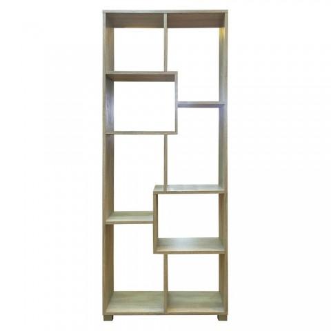 Libreria scaffale design 8 moduli