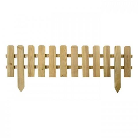 Steccato 120x45/30cm in legno impregnato
