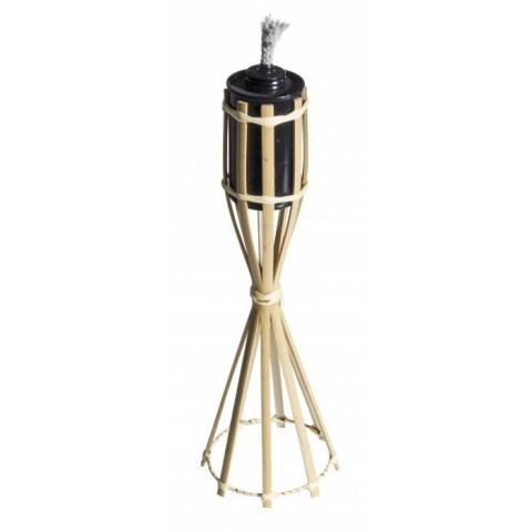 Torcia da tavolo in bamboo